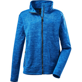 killtec KOW 35 Knitted Fleece Jacket Boys, blauw